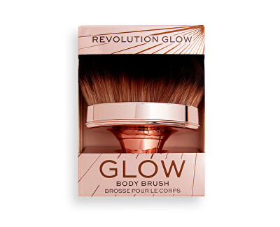 Štetec na telo Revolution Glow (Shimmer Oil Buffing) 1 ks