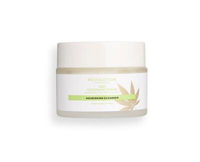 Pleťový čisticí krém CBD Skincare (Nourishing Cleansing Cream) 50 ml