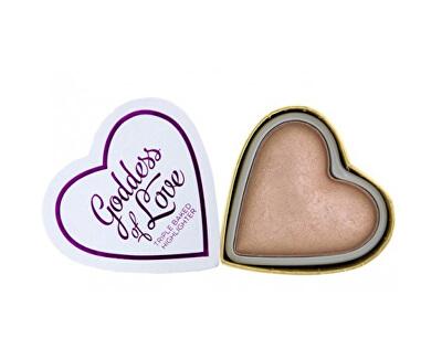 Srdcový rozjasňovač Bohyně lásky (Hearts Highlighter Goddess of Love) 10 g