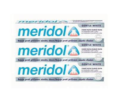 Zubní pasta s bělicím účinkem (Gentle White) tripack 3 x 75 ml