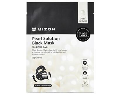 Mască iluminatoare cu extracte de perle (Pearl Solution Black Mask) 25 g