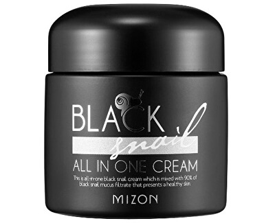 Pleťový krém s filtrátem sekretu Afrického černého hlemýždě 90% (Black Snail All In One Cream)