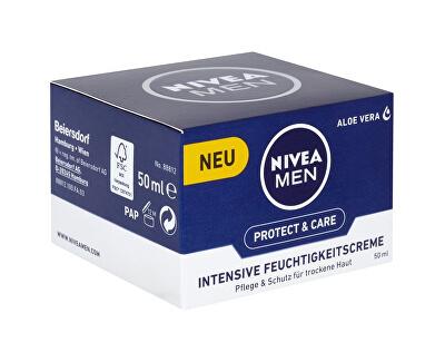 Intenzivní hydratační krém pro suchou pleť pro muže (Face Care) 50 ml - SLEVA - poškozená krabička