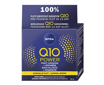 Noční krém proti vráskám Q10 Plus 50 ml