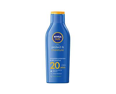 Hydratační mléko na opalování SPF 20 Sun (Protect & Moisture Lotion) 200 ml