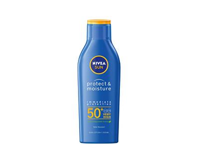 Hydratační mléko na opalování SPF 50 Sun (Protect & Moisture Lotion) 200 ml