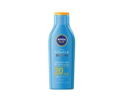 Intenzivní mléko na opalování SPF 20 Sun (Protect & Bronze Sun Lotion) 200 ml