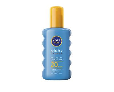Intenzivní sprej na opalování SPF 20 Sun (Protect & Bronze Sun Spray) 200 ml