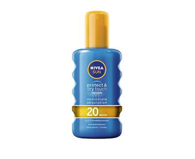 Neviditelný sprej na opalování SPF 20 Sun (Invisible Protection Transparent Spray) 200 ml