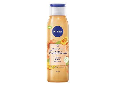 Osviežujúci sprchový gél Fresh Blends Apricot, Mango, Rice Milk (Refreshing Shower) 300 ml