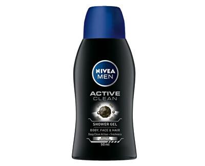 Sprchový gel pro muže Active Clean mini (Shower Gel) 50 ml