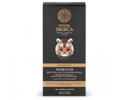 Peeling de curățare pentru revigorarea pielii Men Tiger's Paw (Reviving Face Cleansing Scrub) 150 ml