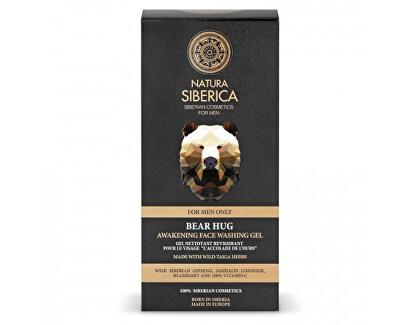 Čisticí pleťový gel Men Bear Hug (Awekening Face Washing Gel) 150 ml