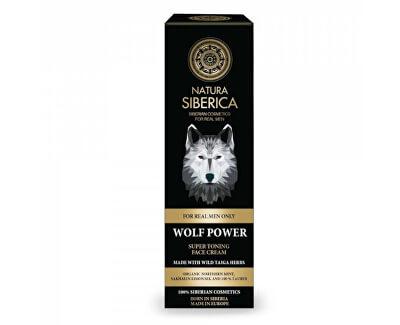 Tonizující krém na obličej Men Wolf Power Super (Toning Face Cream) 50 ml