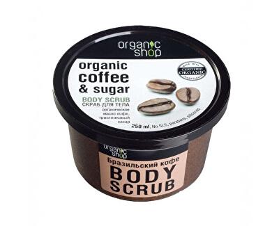 Peeling de cafea pentru corp(Coffee & Sugar Body Scrub) 250 ml