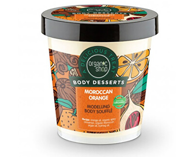 Cremă de CorpBody Desserts Moroccan Orange(Modeling Body Souffle) 450 ml