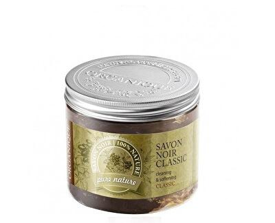 Přírodní černé mýdlo Savon Noir (Cleansing & Softening) 200 ml