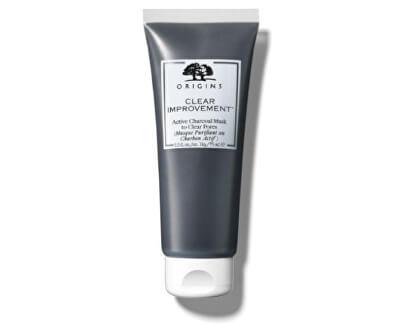Mască de față pentru curățare cu cărbune activ Clear Improvement™ (Active Charcoal Mask To Clear Pores) 75 ml