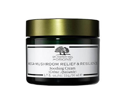 Cremă hidratantă pentru piele sensibilă Dr. Andrew Weil for Origins ™ (Mega-Mushroom Relief & Resilience Soothing Cream) 50 ml