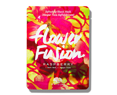 Mască pentru hidratarea pielii Malina Flower Fusion(Hydrating Sheet Mask) 1 bucata