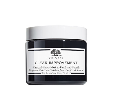 Mască de Tencu cărbune negru și miere Clear Improvement ™ Charcoal(Honey Mask) 75 ml