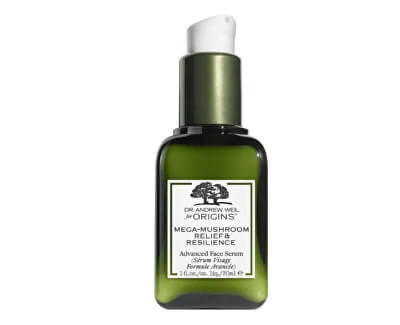 Ser deTen pentru pielea sensibilă Dr. Andrew Weil for Origins ™ (Mega-Mushroom Relief & Resilience Advanced Face Serum) 30 ml