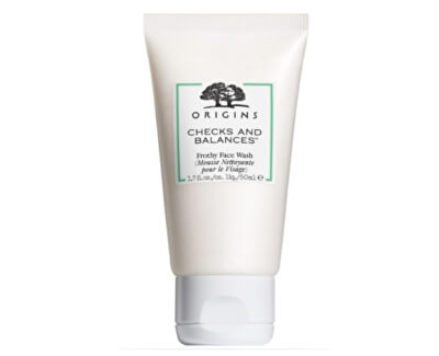 Cremă de Tenpentru curățare Checks AndBalances ™ (Frothy Face Wash Travel Size) 50 ml