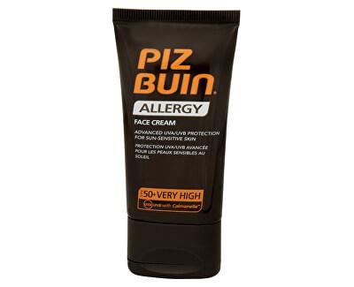 Krém na opalování na obličej SPF 50+ (Allergy Face Cream) 50 ml