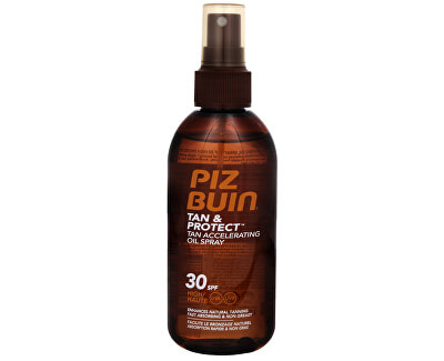 Ochranný olej ve spreji urychlující proces opalování Tan & Protect SPF 30 (Tan Accelerating Oil Spray) 150 ml - SLEVA - prasklé víčko