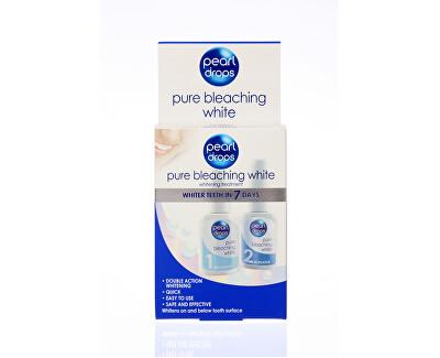 Sada pro bělení zubů Pure Bleaching White 2 x 10 ml
