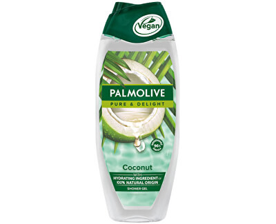 Gel de duș Pure & Delight Coconut (Shower Gel) 500 ml