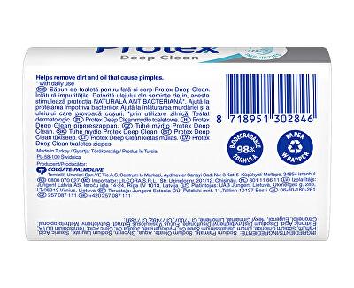 Săpun solid antibacterian Deep Clean (Face & Body Bar Soap) 90 g