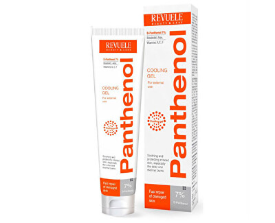 Gel răcoritor după bronzare Panthenol (Cooling Gel) 75 ml