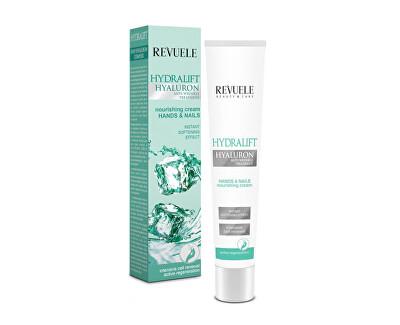 Hydratační krém na ruce a nehty s kyselinou hyaluronovou Hydralift Hyaluron (Hands & Nails Nourishing Cream) 50 ml