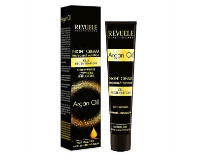 Cremă de noapte hidratantă anti-îmbătrânire cu ulei de argan Argan Oil(Night Cream) 50 ml