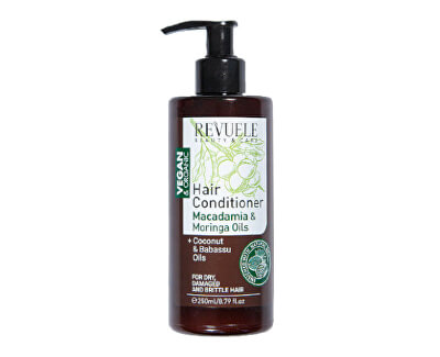 Balsam cu extracte de macadamia și moringa Beauty & Care(Hair Conditioner) 250 ml