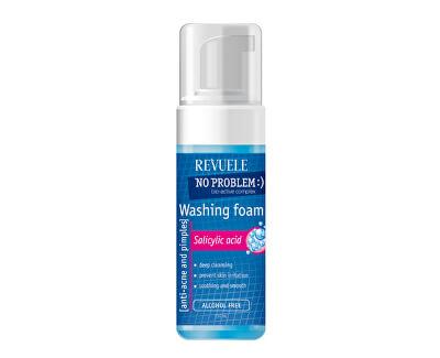 Spumă de curățare No Problem(Washing Foam Anti-Acne & Pimples With Salicylic Acid) 150 ml