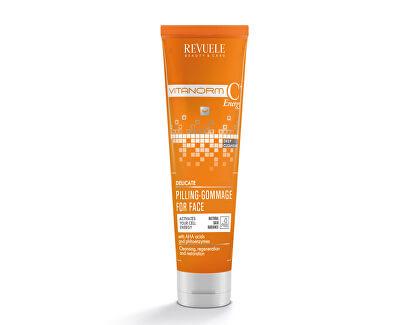 Peeling de Tencu acizi AHA Vitanorm C + Energy (Delicate Pilling-Gommage for Face) 80 ml