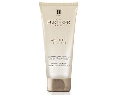Obnovující šampon s keratinem pro poškozené vlasy Absolue Keratine (Repairing Shampoo) 200 ml