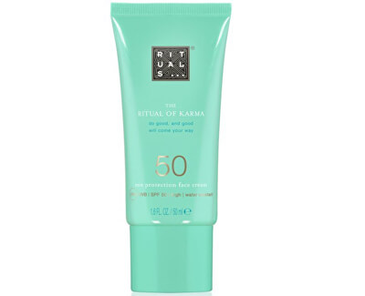 Pleťový krém SPF 50 The Ritual Of Karma (Sun Protection Face Cream SPF 50) 50 ml
