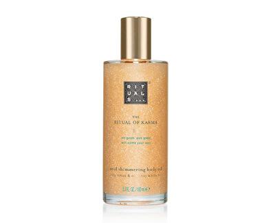 Třpytivý olej The Ritual Of Karma (Shimmering Body Oil) 100 ml