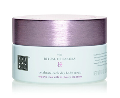 Peelingul corpului  The Ritual Of Sakura (Celebrate Each Day {{Body Scrub 250 ml