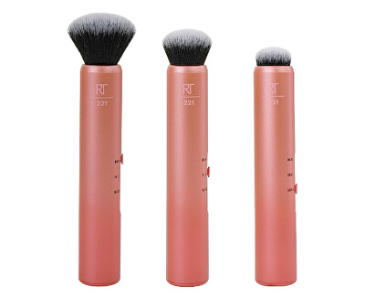 Kosmetikpinsel für Make-up 3 in 1 (Custom Complexion Brush)