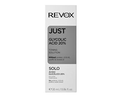 Kyselina glykolová Glycolic Acid 20 % Just (Toning Solution) 30 ml