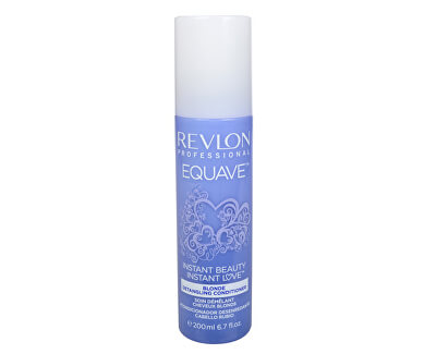 Dvojfázový kondicionér pre blonďavé vlasy Equave Instant Beauty (Blonde Detangling Conditioner) 200 ml