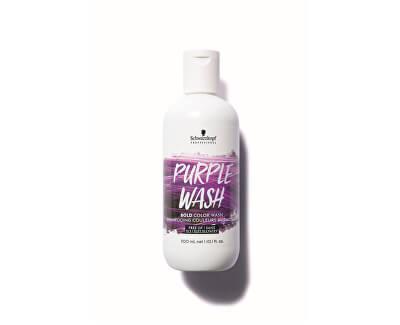 Intenzívne farbiaci šampón Bold Color Wash Purple 300 ml