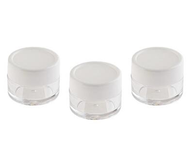 Kelímky na kosmetiku (Cosmetic Jar) 3 x 10 ml
