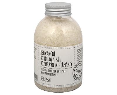 Relaxační koupelová sůl Rozmarýn a heřmánek (Original Dead Sea Bath Salt) 500 g