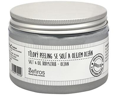 Tělový peeling se solí a olejem Oceán (Salt & Oil Bodyscrub) 300 ml