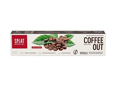Pastă de dinți pentru îndepărtarea petelor de pe dinți Coffee Out 75 ml